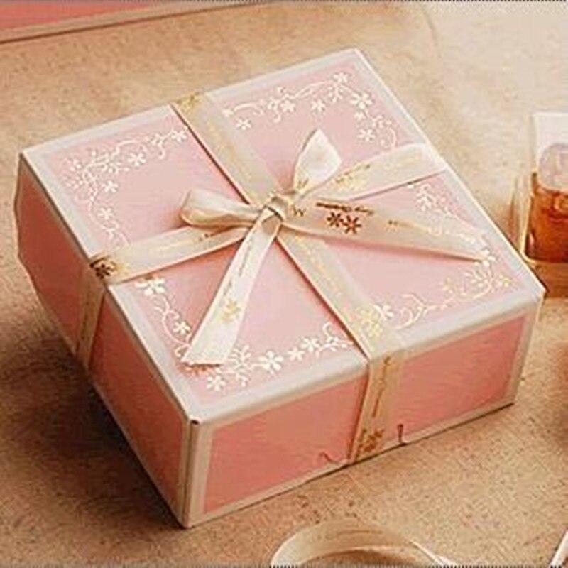 10 Pcs Mini Kraft Paper Box,DIY Wedding Gift Favor Boxes,Party Candy Box,Mini Single Cake Box Packaging