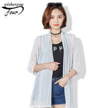 2017 New Women Blouses Sexy Summer Open Front Blusas Casual Loose Style Korean Fashion Tops Plus Size 597C 30
