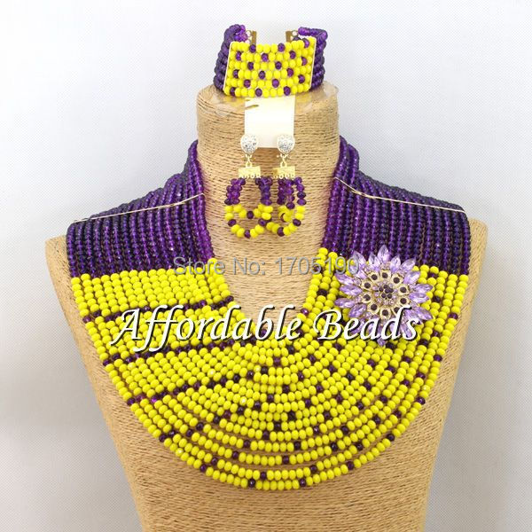 Fantastic Fashion Jewelry Beads Set Unique Costume Jewelry Set Free Shipping ABW044