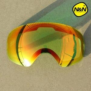 f73ec26f891 Professional DIY Double Layer Anti Fog Ski Goggles Lenses For NANDN NG7