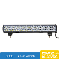 12v dual Double rows CREEs led driving lightLed Light Bar Flood Spot Combo Driving Offroad 4x4WD Truck ATV