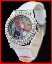 Nueva White Band Pnp Plata Brillante caja de Reloj de Los Niños KW054B