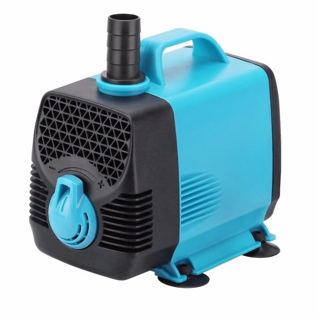 3000L/h Mini Aquarium Powerhead for Fish Tank Submersible Water Pump Adjustable Flow for Water Fountain Hydroponic Pond EU Plug