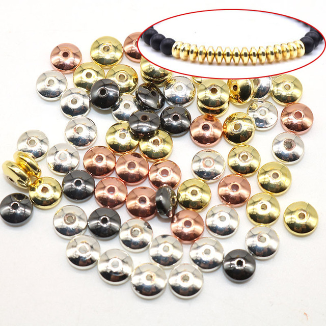 6MM, 100pcs Spacer Beads 1