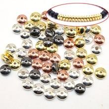 6MM 100pcs Black Hematite Gall stone Beads Spacer Loose Bead