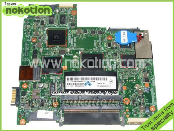 NOKOTION Laptop Mainboard for ACER 3810T SJM31 MOTHERBOARD 6050A2280901 MBTV90B001 1310A2280317 DDR3 Full Tested Free Shipping nokotion laptop motherboard for acer aspire 5551 nv53 mbbl002001 mb bl002 001 mainboard tarjeta madre la 5912p mother board