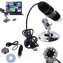 Cheap price Mega Pixels 1000X 8 LED USB Digital Microscope Endoscope Camera Microscopio Magnifier + Stand