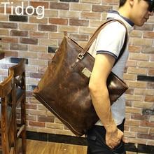 Tidogลมกระเป๋าสะพายกระเป๋าถือกระเป๋าผู้ชายสไตล์ช้อปปิ้งกระเป๋าสบายๆ