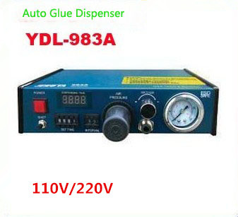 Hot sale! 1PC 110V /220V Auto Glue Dispenser Solder Paste Liquid Controller Dropper YDL - 983A Dispensing system 11 11 free shippinng 6 x stainless steel 0 63mm od 22ga glue liquid dispenser needles tips
