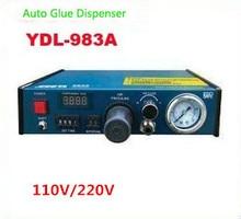Лидер продаж! 1 шт. 110 В/220 В Авто Клей Диспенсер паяльной пасты Liquid Controller Dropper YDL-983A система дозирования