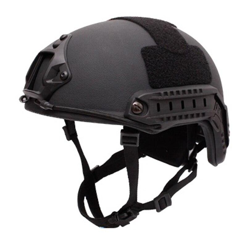 Bulletproof Helmet Level IIIA 3A Military Tactics FAST MH High Cut Bullet Proof Aramid Ballistic Helmet Self Defense New 2019