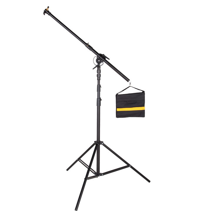 Photographic equipment Nicefoto LS-07 Heavy duty boom light stand cp50 professional photographic equipment heavy duty dolly camera tripod pulley bearing wheel studio light photographic lighting