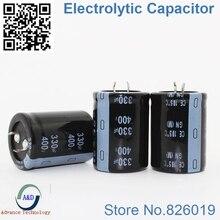 2pcs/lot 400v 330uf Radial DIP Aluminum Electrolytic Capacitors size 30*40 330uf 400v Tolerance 20%