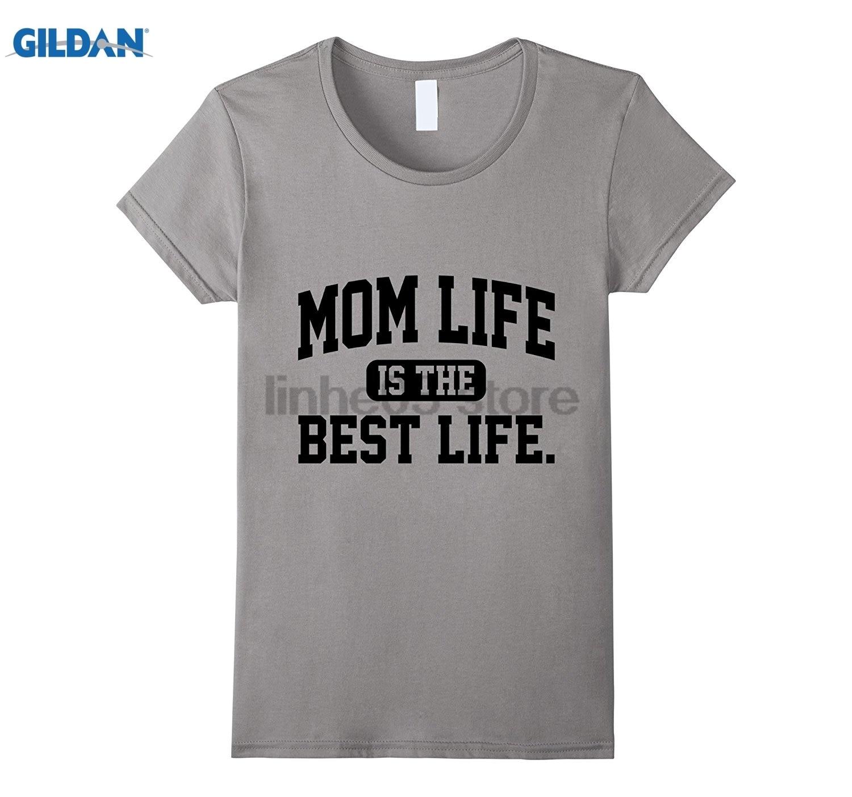 Возьмите Мама Жизнь Лучшей Жизни рубашка-# MOMLIFE рубашки для мамы Горячие Для женщин футболка платье женские футболки