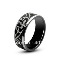 Free Shipping Cheap Price USA Canada UK Russia Brazil Hot Sales 8MM Angel Wings Promise Mens