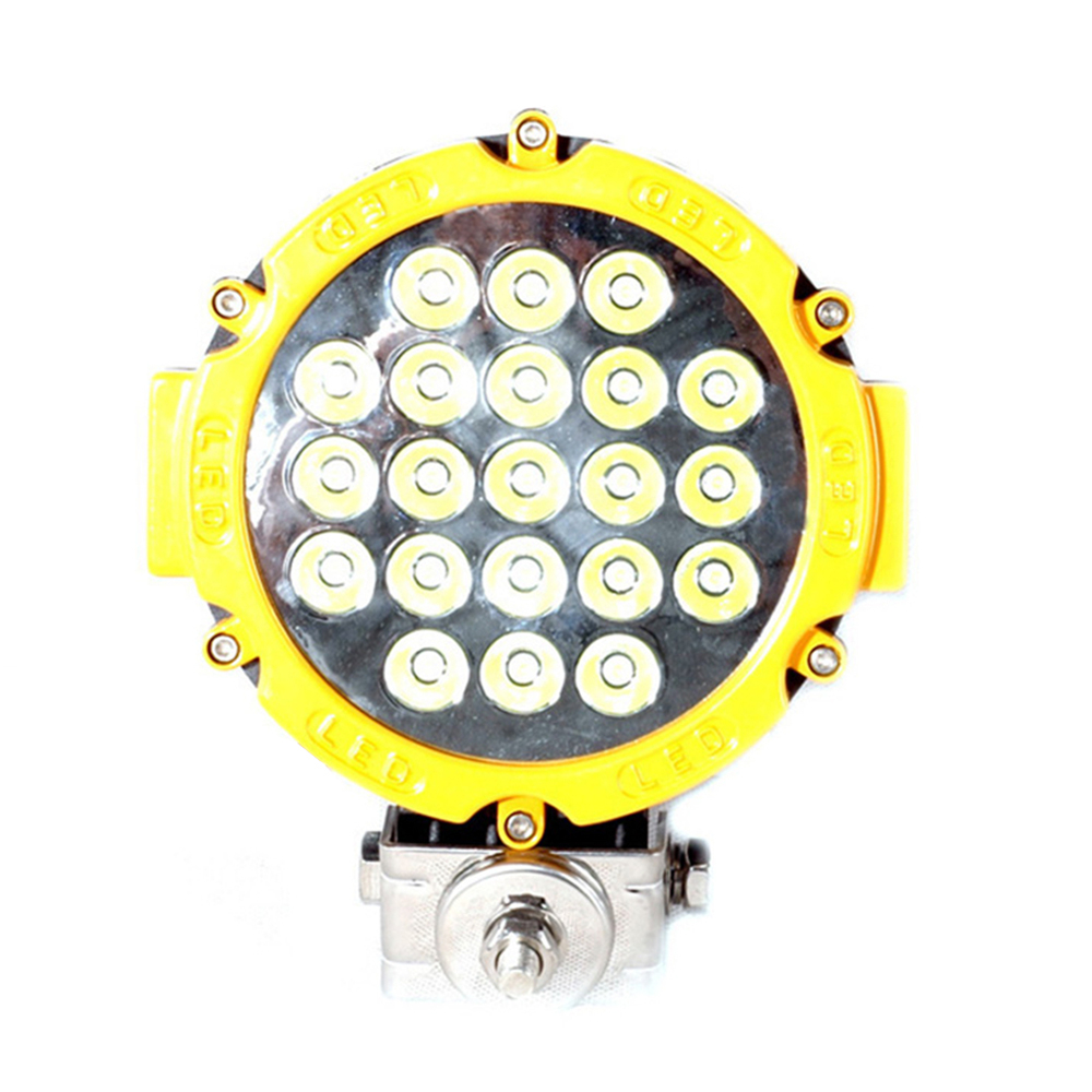 Wholesale 7inch 63w led work light spot flood high power auto driving lamp for Offroad Boat Car Tractor Truck SUV ATV 10-30V DC