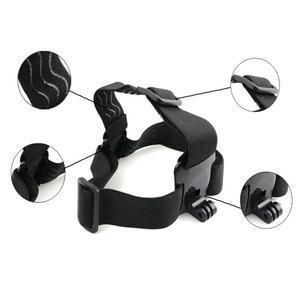 Image 5 - 2 in1ユニバーサル電話のストラップヘッドストラップマウント強力な吸引カップ + 胸stapマウント移動プロsjcam xiaoyiアクションカメラ