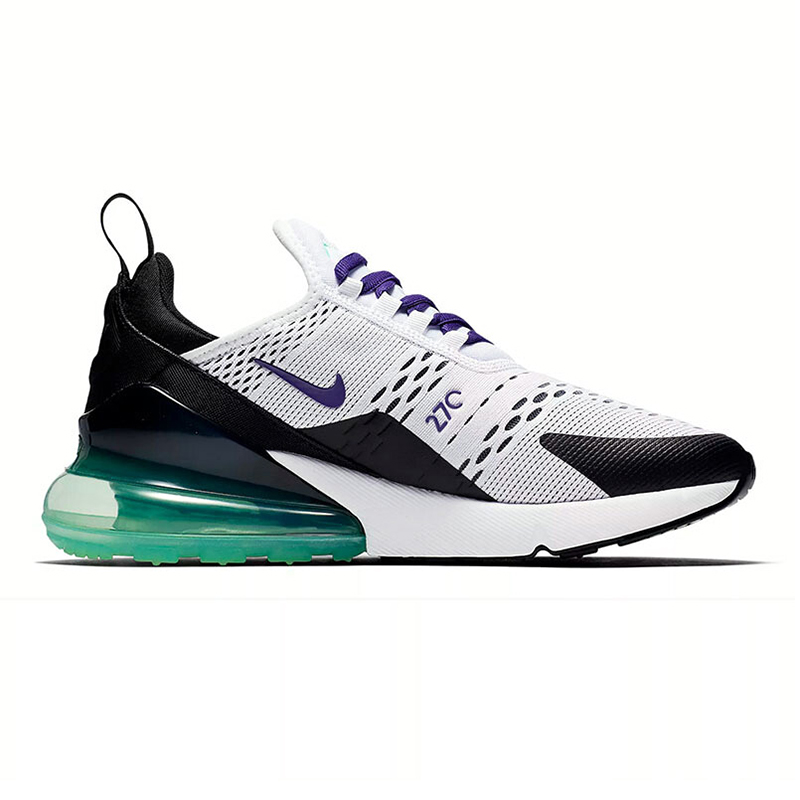 f77ec84203 Original NIKE Air Max 270 Women's Running Shoes, Blue & White/Pink, Shock  absorbing Breathable Lightweight AH6789 103 AH6789 601-in Running Shoes  from ...