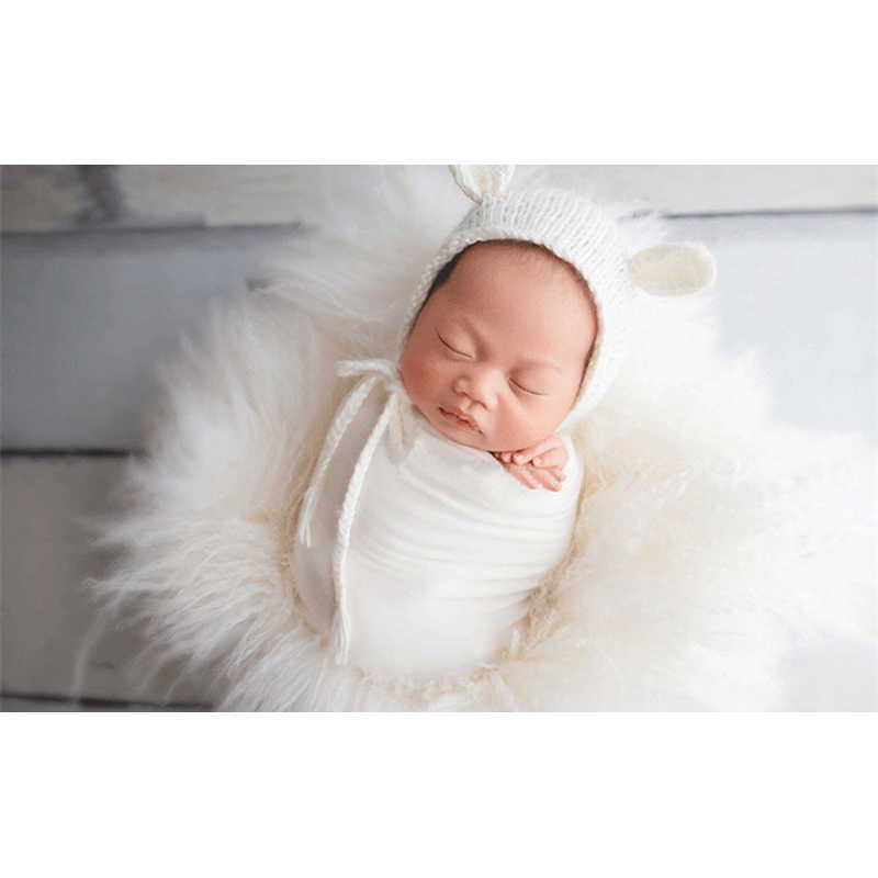 40*160 cm Stretch Wrap Pasgeboren Fotografie Props Accessoires Baby Jongen Meisje Zachte Elastische WrapsBlanket Multi-kleuren Swaddlings
