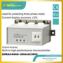 380Vac и 200A большой Защита двигателя от большой водяной Насос ZHRA2-N40A ~ 200A/AC380V