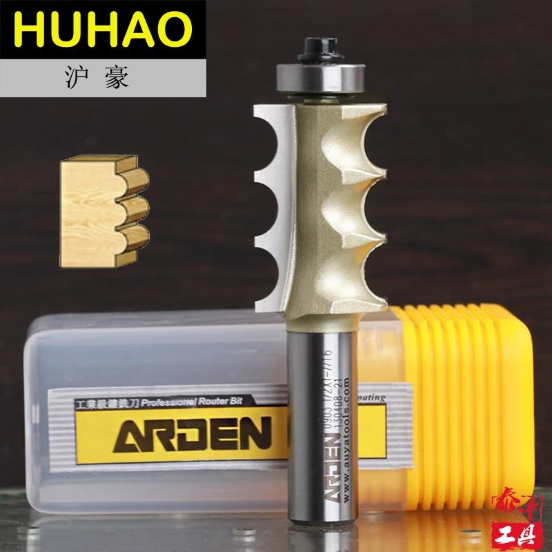 Woodworking Triple Bead Arden Router Bit - 1/2*7/8 - 22.2mm