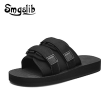 купить Women Slides Slippers Ladies Home Shoes Fashion Casual Female Beach Sandals 2019 Summer Comfortable Slippers Platform дешево