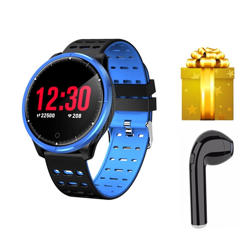Smart bracelet+earphone/set fitness tracker  women men smart watch blood pressure for huawei honor band 3  mi band 2 VS T1 S226-in Smart Wristbands from Consumer Electronics    1