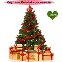 120CM Artificial Christmas Tree Decorations For New Year Decorated Holiday Related Ornaments Xmas Tree 150pcs Branch