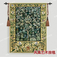 William Morris Tree Of Life Green Extra Large 197 X 139cm Art Tapestry Wall Hanging Home