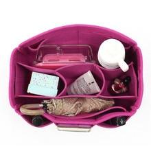 Женский косметический Органайзер войлочная ткань сумка с кошельком несколько карманов Сумка-косметичка Роза 30x18,5x15 складная дорожная сумка