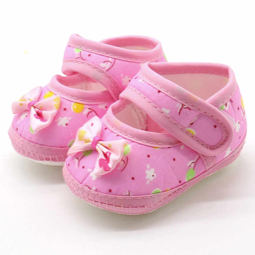 ROMIRUS suela suave de algodón recién nacido bebé arco niñas suela suave Prewalker cálido Casual pisos primeros caminantes zapatos de niño 15