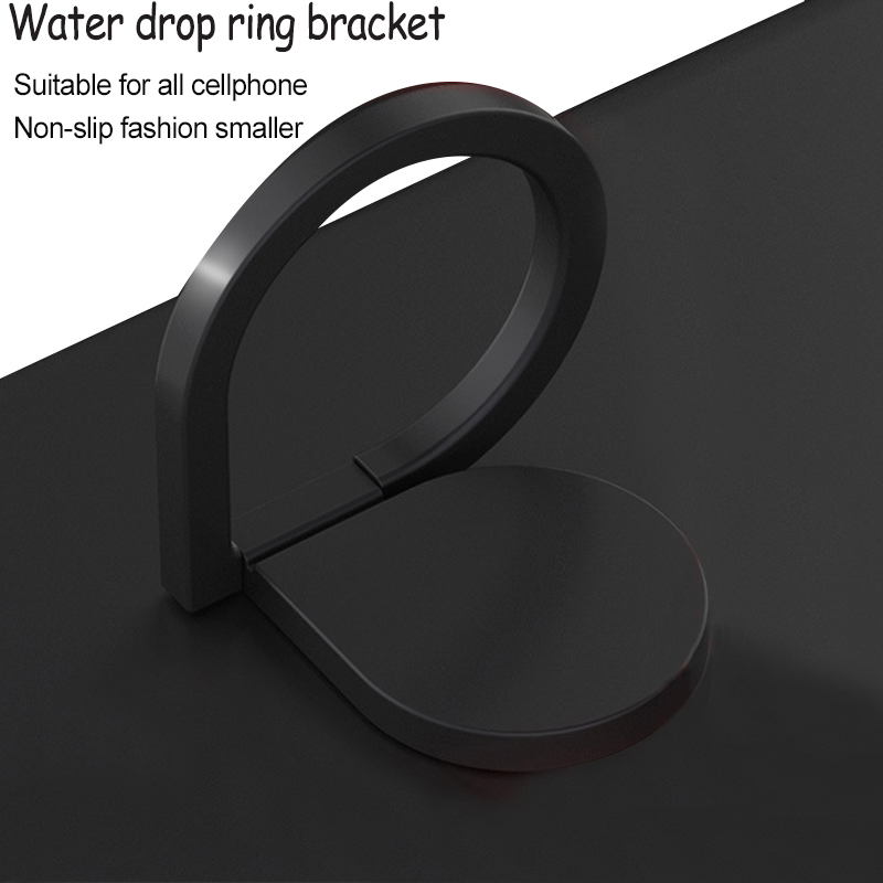 10pcs Magnet 360 degree Rotate freel Water Droplet Finger Ring Holder For Mobile phone Smartphone car Stand water Youshuydata