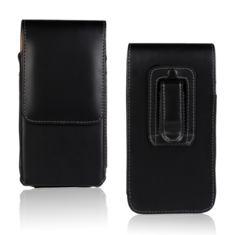 High Quality PU Leather Smooth Lichee Pattern Case Belt Clip Pouch Case for <font><b>Doogee</b></font> <font><b>Valencia</b></font> <font><b>2</b></font> <font><b>Y100</b></font> <font><b>Pro</b></font> Drop Shipping image