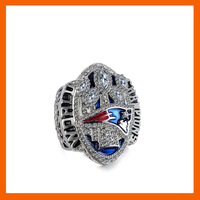 Pre Sell 2016 OFFICE VERSION NEW ENGLAND PATRIOTS SUPER BOWL LI CHAMPIONSHIP RING US SIZE 6