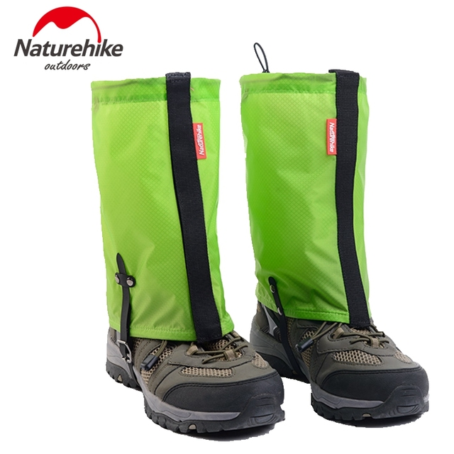 Naturehike Silicone Nylon Snow Gaiters Ultralight Legging Gaiter Waterproof Hiking Camping Climbing Trekking Thin Anti-Tear 95g