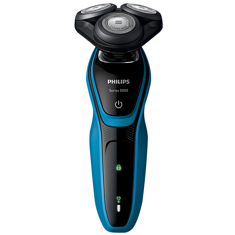 PHILIPS S5077 / 03 Rechargeable Electric Shaver Three Knife Head Washing Razor Shaver Cordless Shaver Beard Trimmer For Men philips s531 rechargeable electric shaver water washable razor