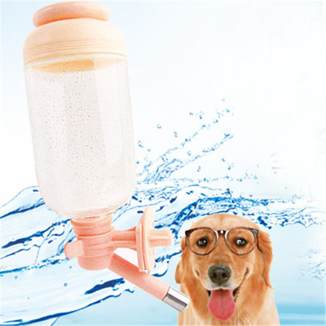 dogs water drinking dispenser bottle detachable cats dog comedouro