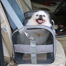 New Pet Messenger Carrier Bags Cat Dog Outgoing Travel Packets Breathable Mesh Handbag Shoulder Bag for Dogs Cats