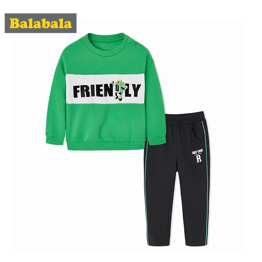 Balabala boy tracksuits costume toddler boys enfant clothing kids set children clothes boys sportswear clothing set for children