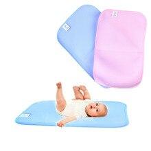 Трехслойный детский коврик для сна с мочой, матрас, бамбуковое волокно, мягкие подушечки высокого качества, водонепроницаемый коврик для ухода за ребенком, 3 размера