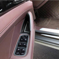 Brand New For Porsche Panamera 2017 2018 4PCS High Quality ABS Chrome Car Door Storage Box Cover Trim Car Styling Accessories