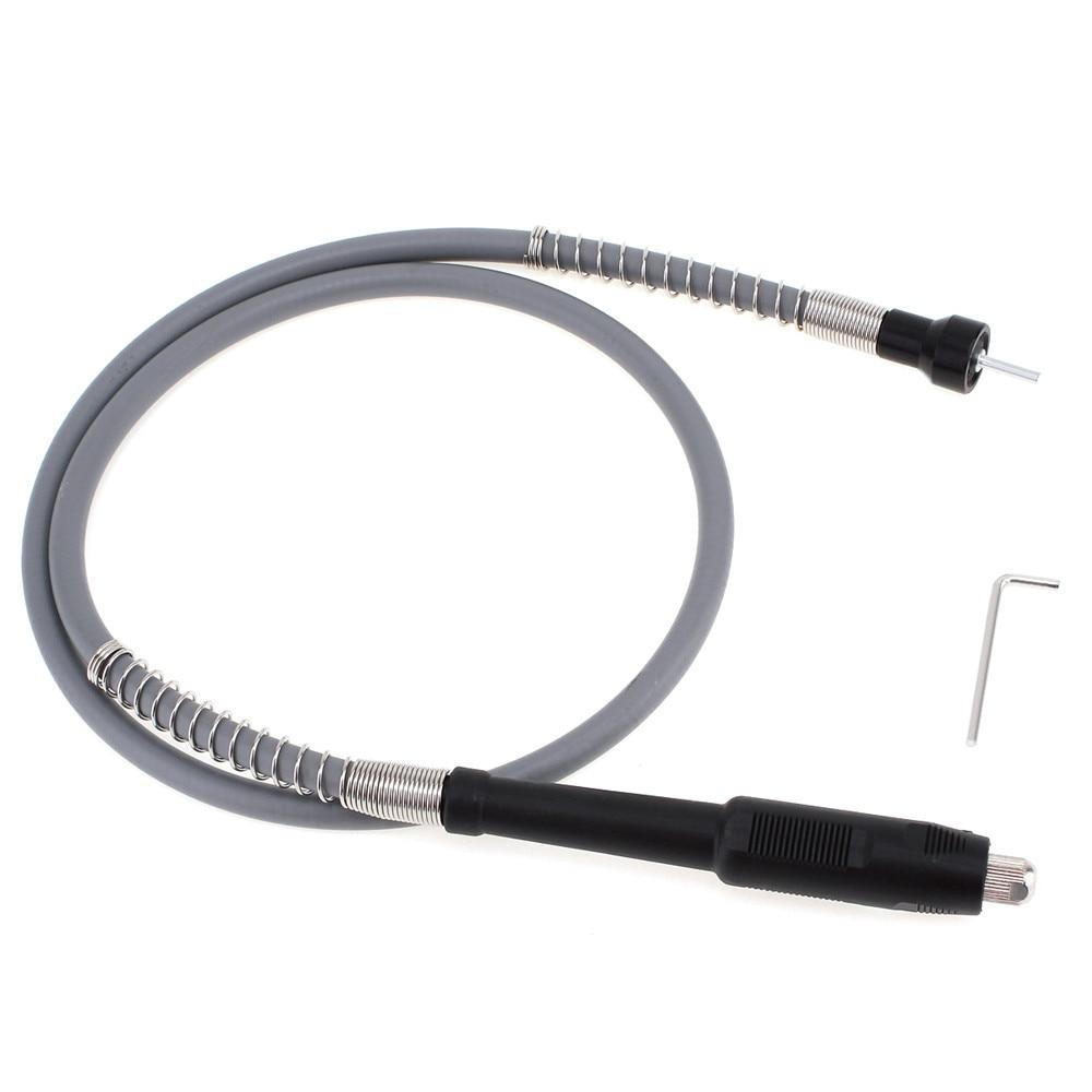 105 cm Universel Flexible Flex Arbre avec Mandrin sans clé 105 cm 1/8 (3.175mm) Connecteur Fitsl Grinder fixation Outil Rotatif