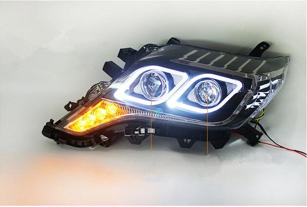 HID Headlights For Toyota Land Cruiser Prado FJ150 Head Lights 2014 2015 Xenon