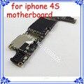 16 gb original placa principal 100% trabalho motherboard para o iphone 4s desbloquear gsm versão placa lógica placa de circuitos de telefonia móvel