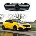 Para o Benz A45 AMG estilo ABS Gloss Black Grade Dianteira para Mercedes W176 A180 A200 A260 A45 2013 2014 2015