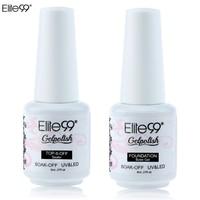Elite99 2Pcs Base Coat + Top Gel Nail Gel Polish for Nail Art Soak-off Gel Nail Polish UV Nail Gel Polish Free Shipping