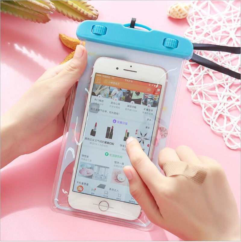 new arrival 4f643 764d4 New Universal Sealed Waterproof Case For OPPO F1S / OPPO A59 Find 9 Neo 5  A31 A31T A37 A37M A37F A33 F5 A73 Waterproof Pouch