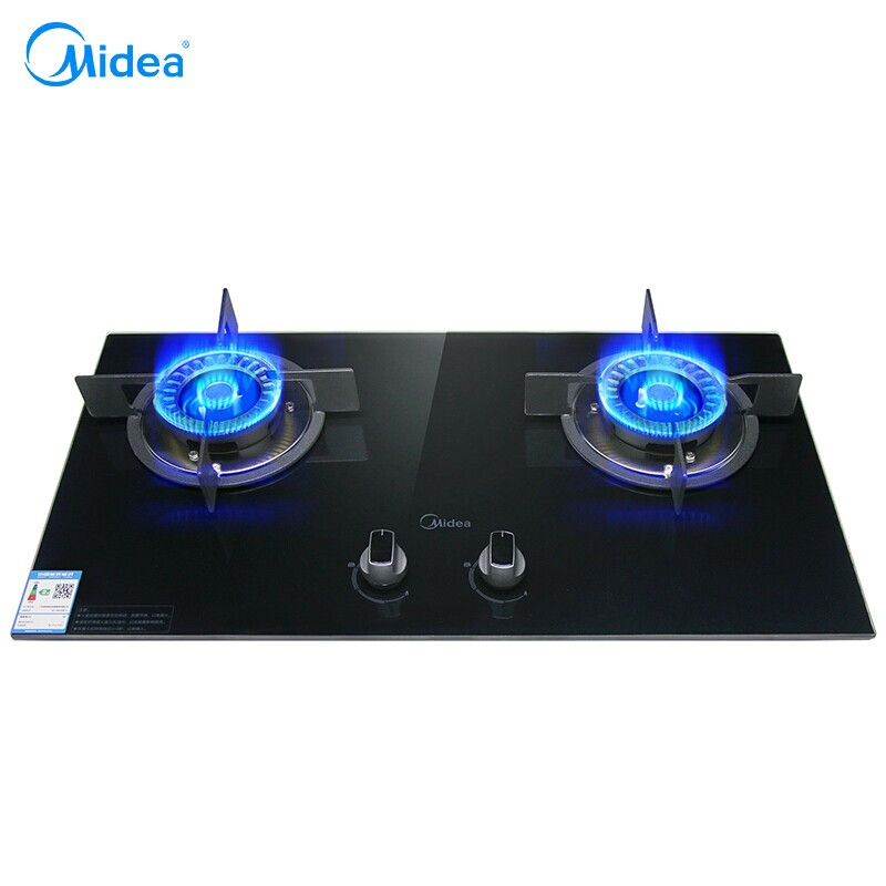 Domestic Built-In Gas Stove Embedded Double-stove Ranger Liquefied Gas Desktop Stove Catering Equipment Freestanding Gas Cooktop