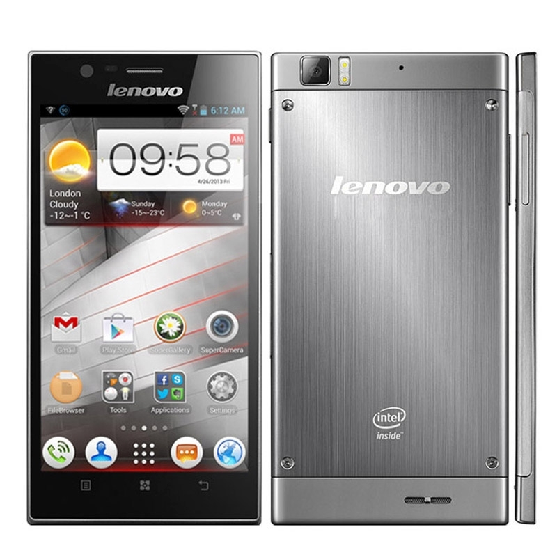 Original Lenovo K900 5.5 inch 3G Phone Call Tablet PC Android 4.2 Intel Atom Z2760 RAM 2GB ROM 16GB, GPS Bluetooth WiFi WCDMA