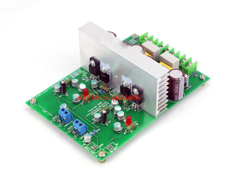 GZLOZONE Hi-end L15DX2 Stereo amplifier board IRS2092 IRAUDAMP7S 125W-500W ---L10-34
